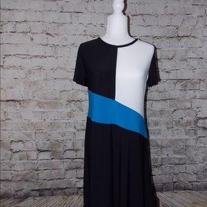 DKNY Asymmetrical Hem Dress